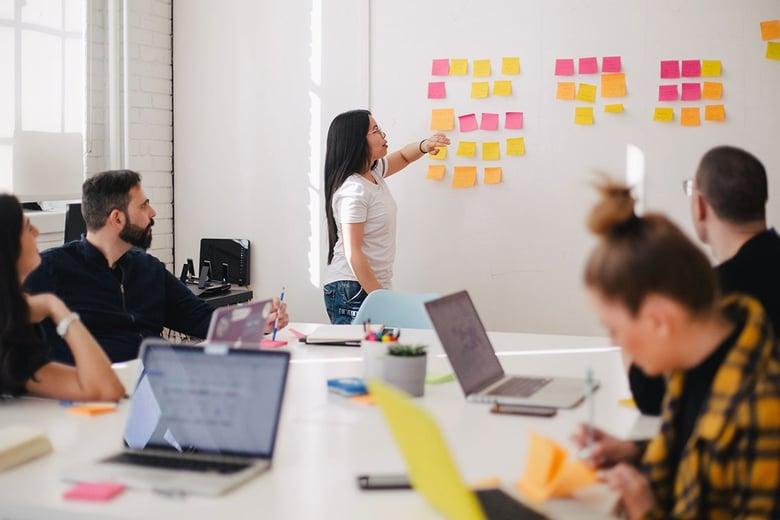 Sales-team-meeting-whiteboarding